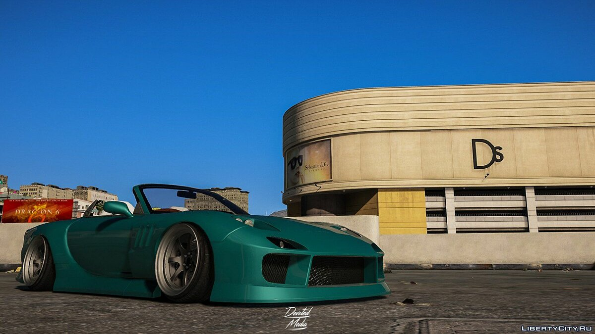 Машина Mazda Mazda RX-7 [Super Tuning/Add-on] 0.1 для GTA 5