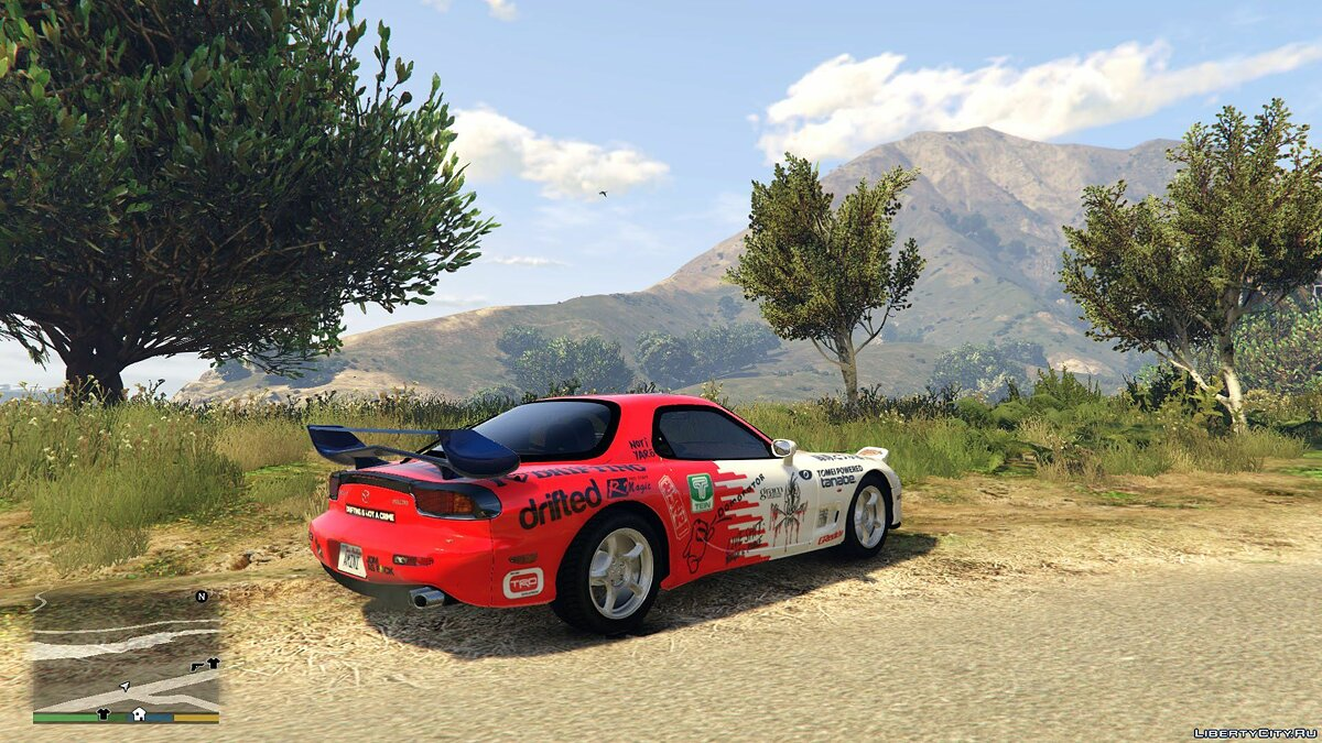 Машина Mazda 1993 Mazda RX-7 [Tuning /Template/ Add-on /Replace] FINAL для GTA 5