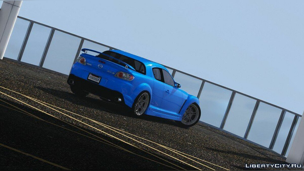 Машина Mazda Mazda RX-8 Mazdaspeed [FE3S] 2004 [Add-On] для GTA 5