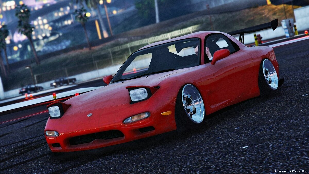 Mazda RX7 FD3S Stanced / Cambered для GTA 5
