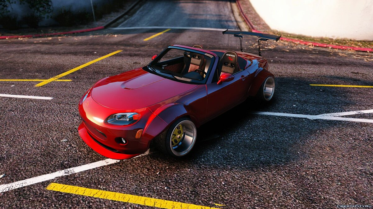 Mazda MX5 Widebody Stanced [Add-On] 1.1 для GTA 5