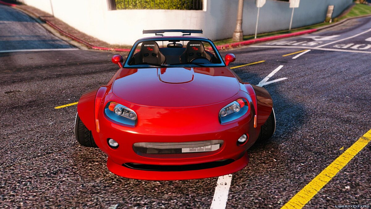 Mazda MX5 Widebody Stanced [Add-On] 1.1 для GTA 5 - скриншот #4