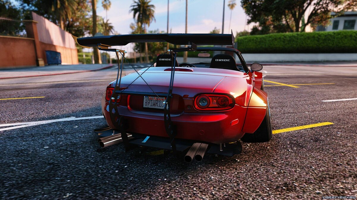 Mazda MX5 Widebody Stanced [Add-On] 1.1 для GTA 5 - скриншот #2