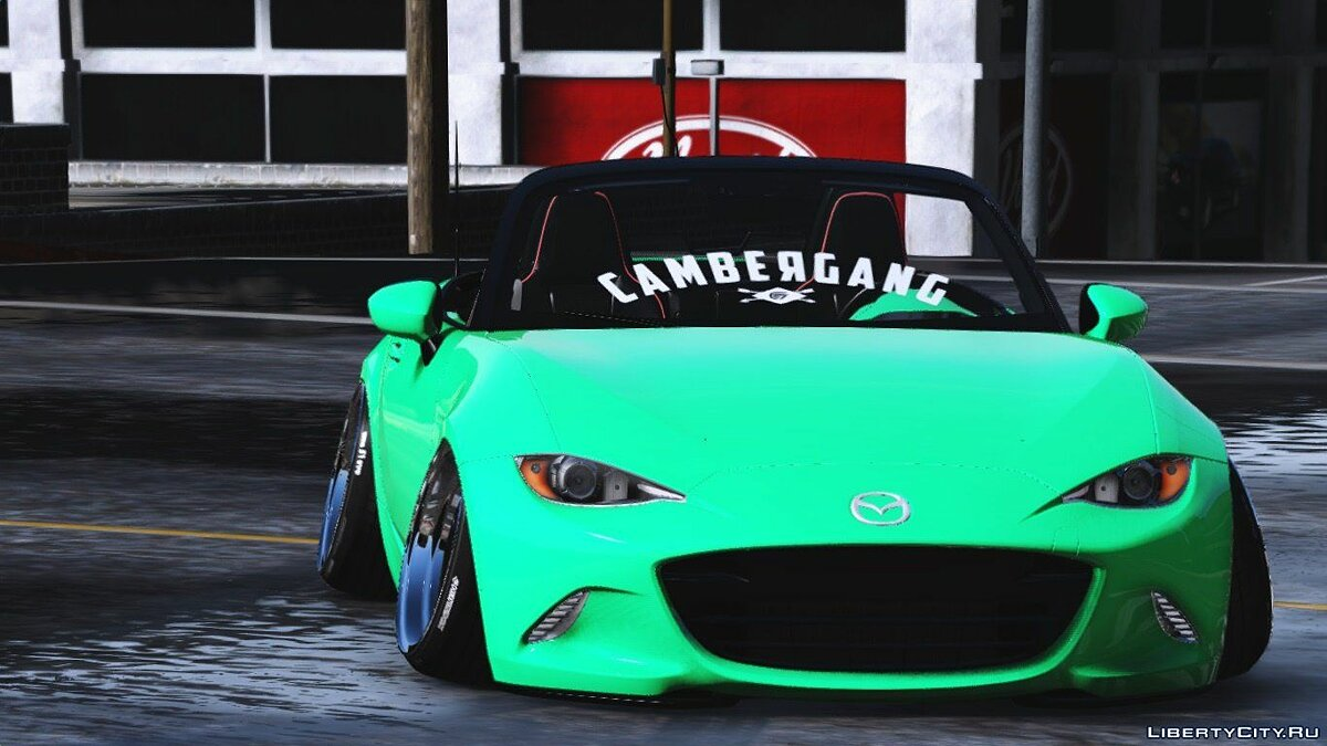 2016 Mazda MX5 Stance [Add-On / Replace] для GTA 5 - скриншот #4