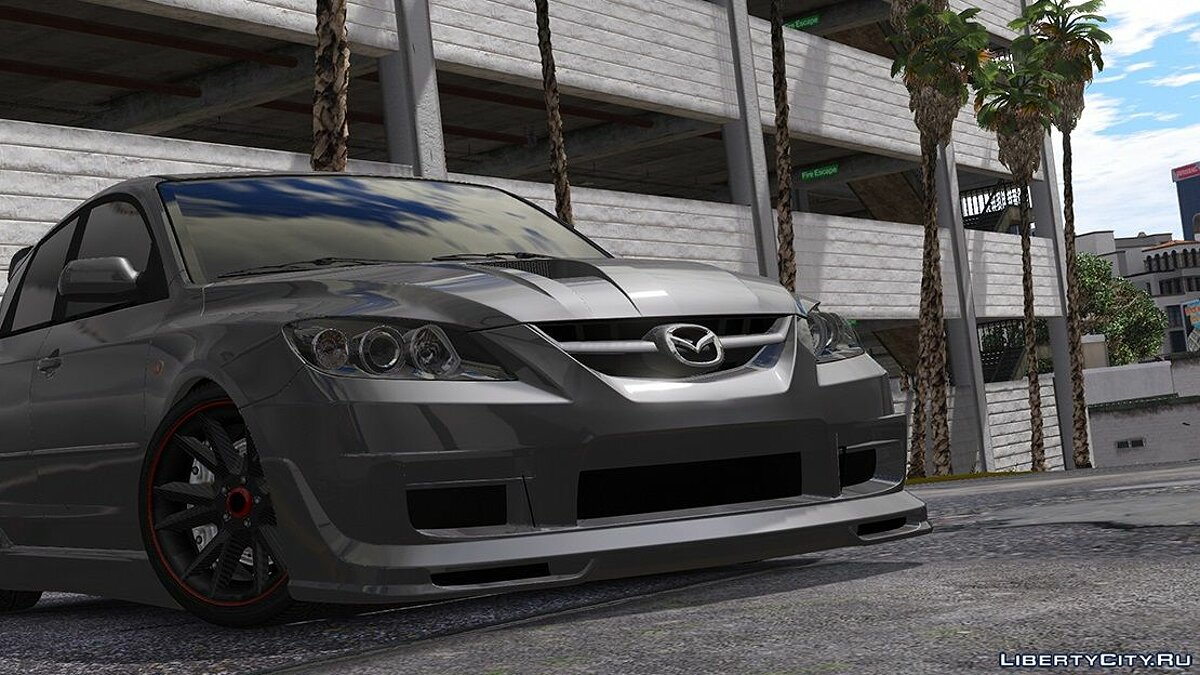 Машина Mazda 2009 Mazda Speed 3 [ Add-on / Tuning / Livery / Template ] version 1.0 для GTA 5