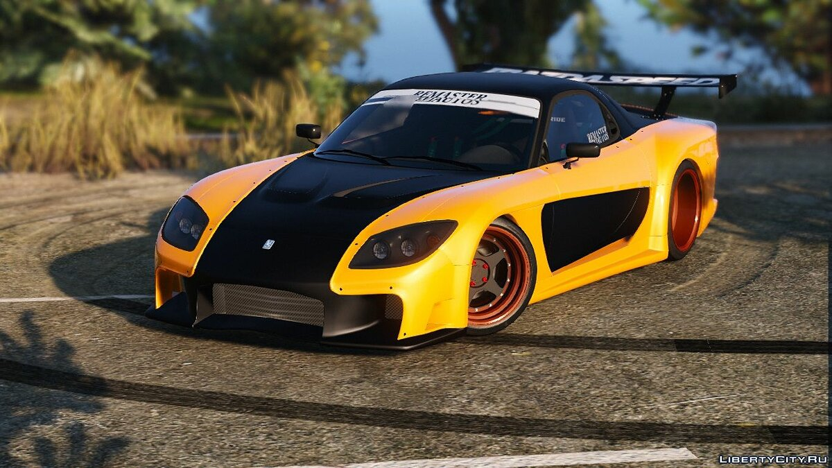 Veilside Mazda RX7 FD3S [Add-On / Replace] 1.0 для GTA 5