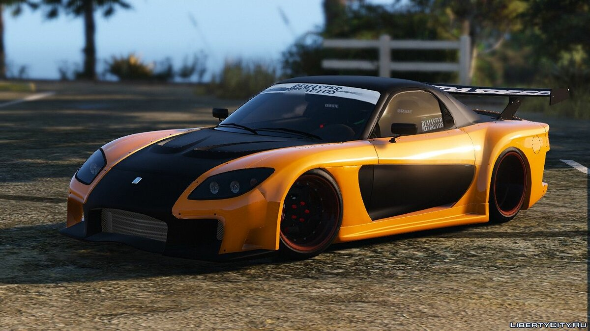 Veilside Mazda RX7 FD3S [Add-On / Replace] 1.0 для GTA 5 - скриншот #2