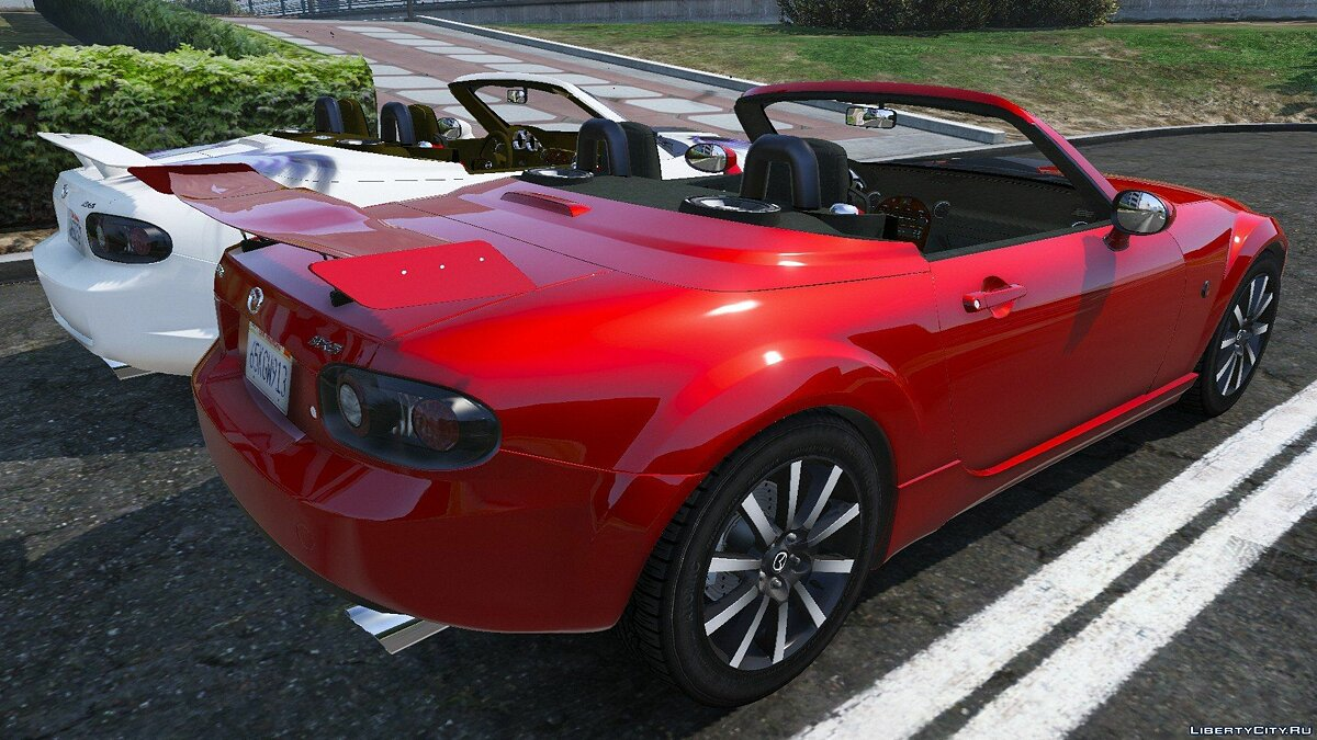 ��ашина Mazda 2007 Mazda MX-5 Roadster Coupe Series III для GTA 5