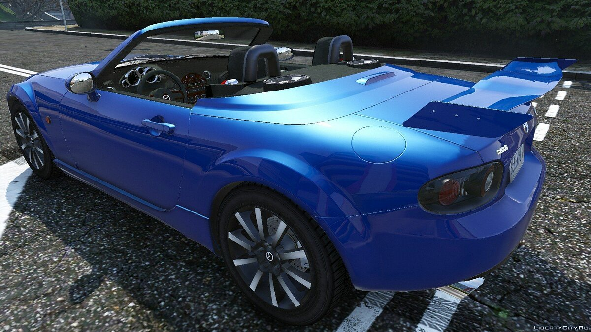 2007 Mazda MX-5 Roadster Coupe Series III для GTA 5 - скриншот #7