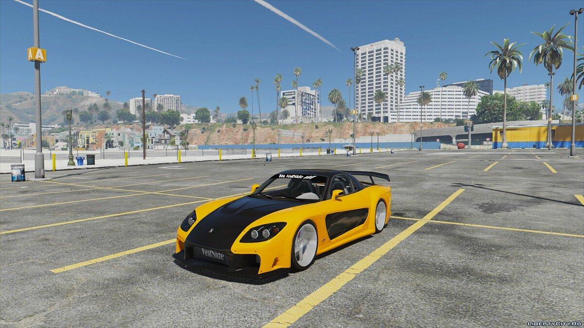Mazda RX7 Veilside Fortune [Add-On / Replace | Livery] 1.4 для GTA 5