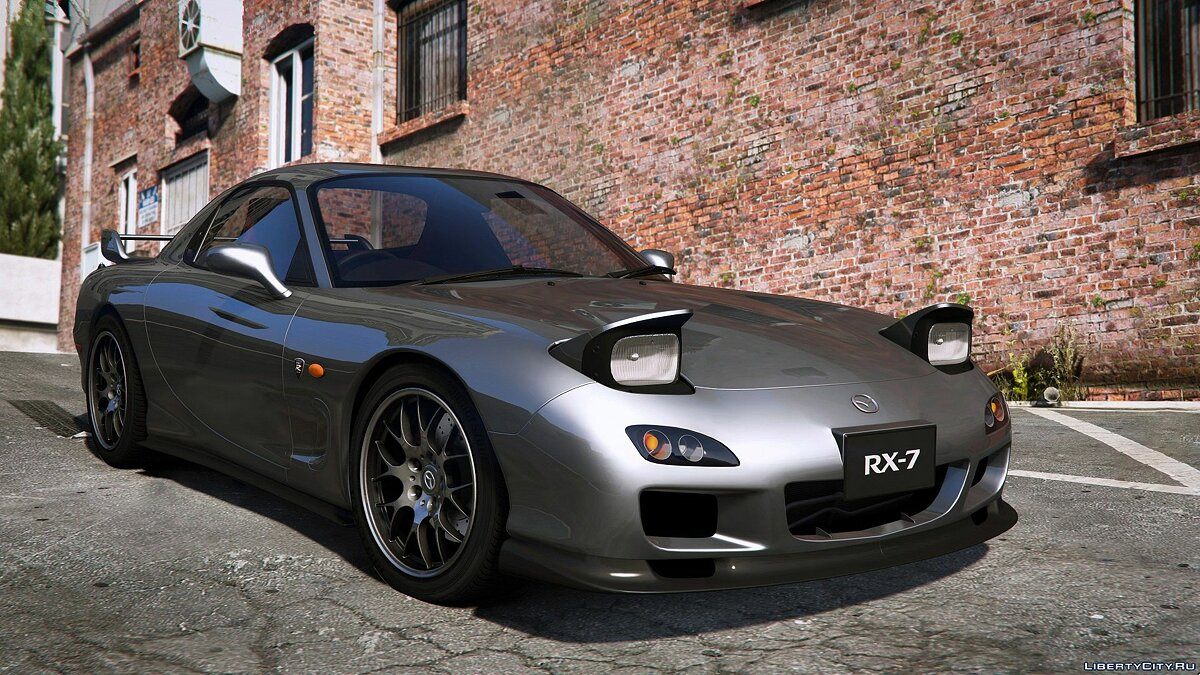 Машина Mazda 2002 Mazda RX-7 Spirit R Type A Series III (FD3S) [Add-On] 1.2 для GTA 5