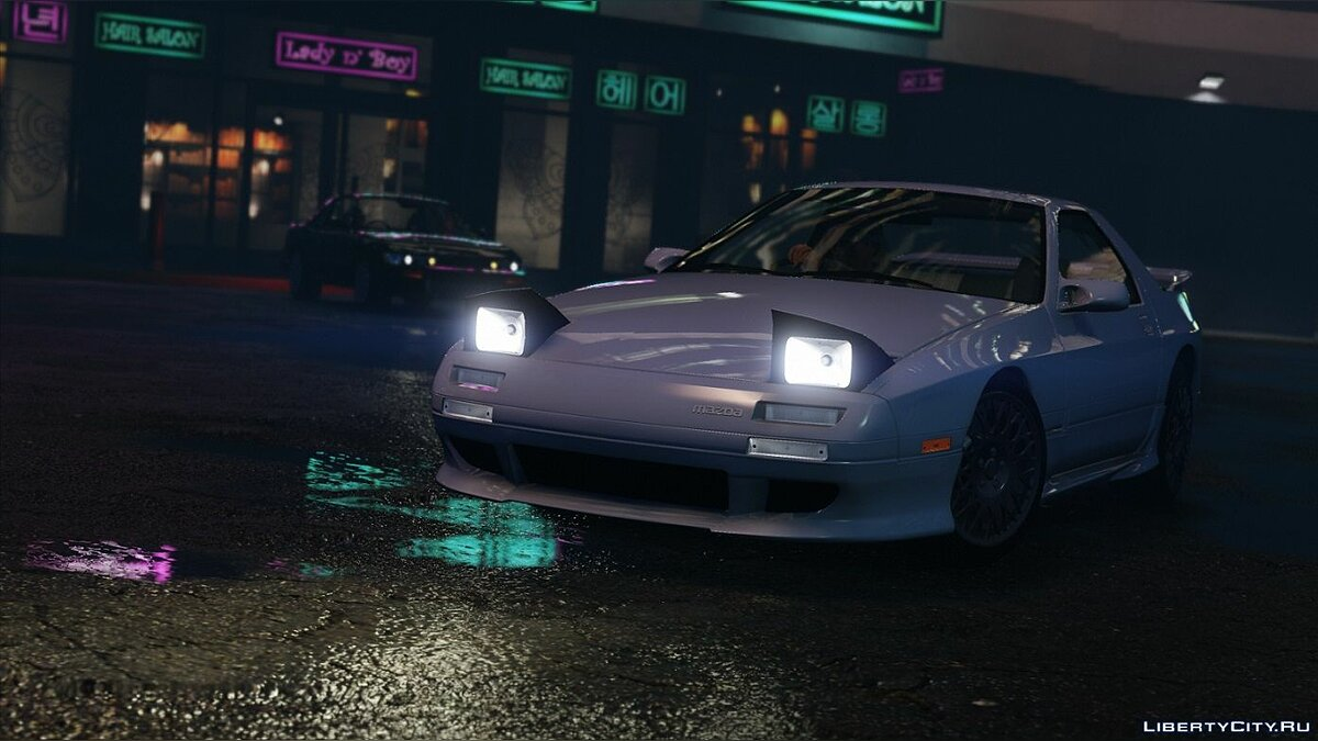 Mazda RX-7 FC3S [Add-On | Tuning | Template] 1.2 для GTA 5 - скриншот #8