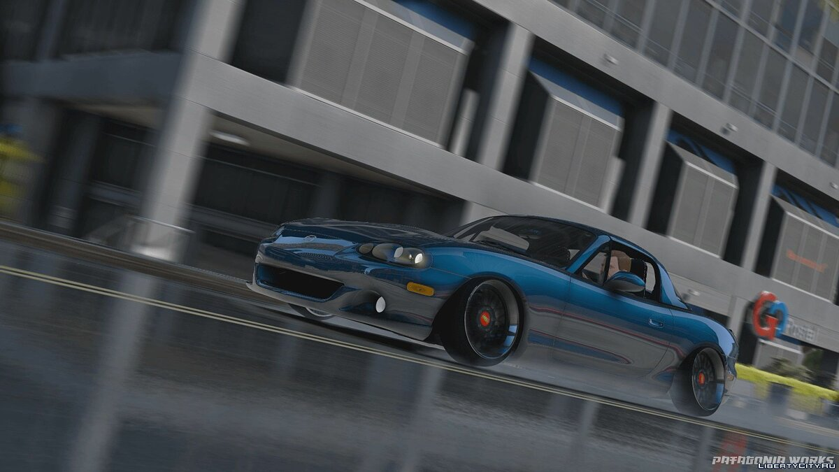 Машина Mazda 2005 Mazda MX-5 Miata [Add-On / Replace] 1.0 для GTA 5