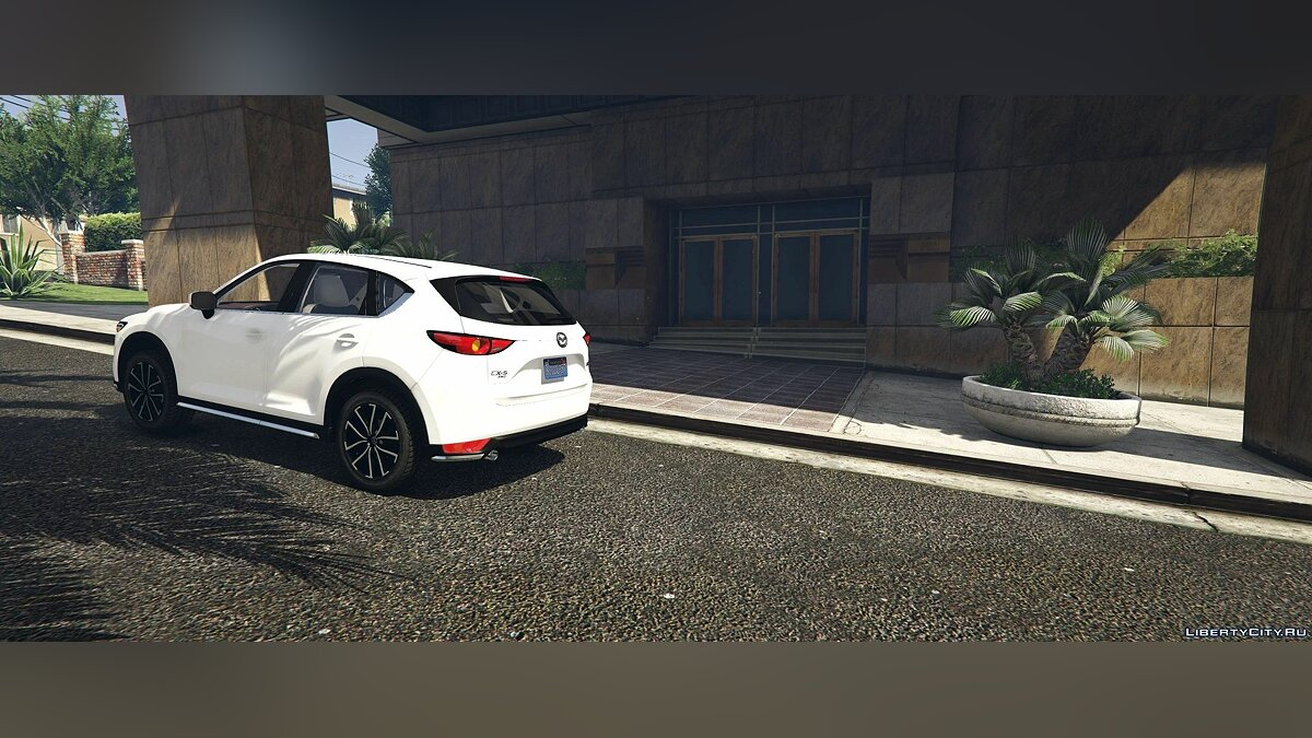 Машина Mazda 2017 Mazda CX-5 Grand Touring (Add-on/Replace) 1.0 для GTA 5