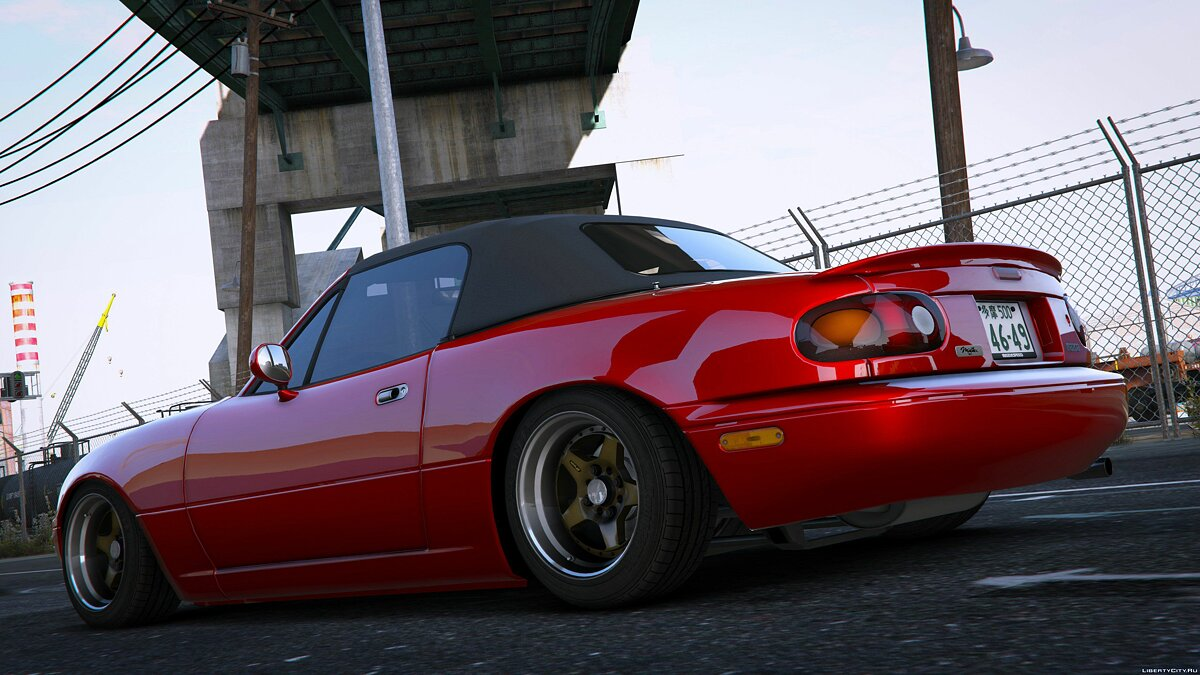 Машина Mazda 1994 Mazda MX-5 Miata(NA6C) [Arios | Add-On] V1.5 для GTA 5