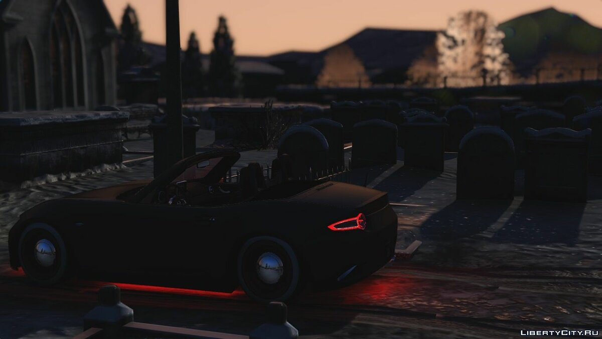 2016 Mazda MX5 Halloween Edition [Replace] для GTA 5 - Картинка #2