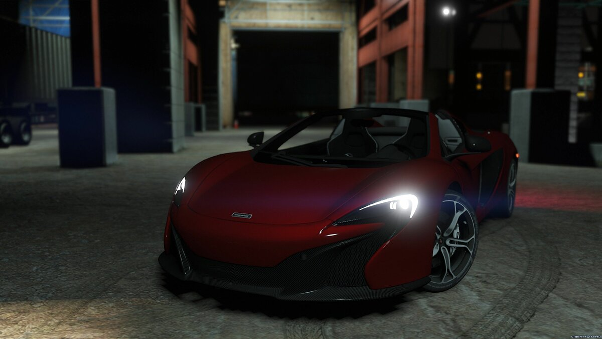 McLaren 650S Spider [Add-On / Tuning] 1.0 для GTA 5 - скриншот #2