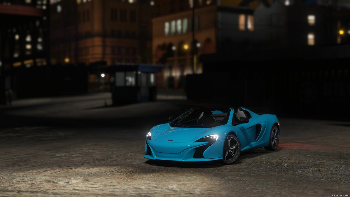 McLaren 650S Spider [Add-On / Tuning] 1.0 для GTA 5 - скриншот #3