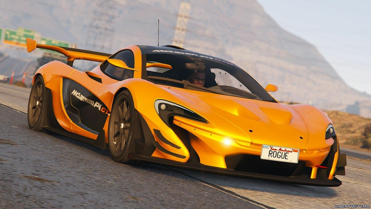 ��ашина McLaren McLaren P1 GTR Road Legal [Add-On / Replace] 1.0 для GTA 5