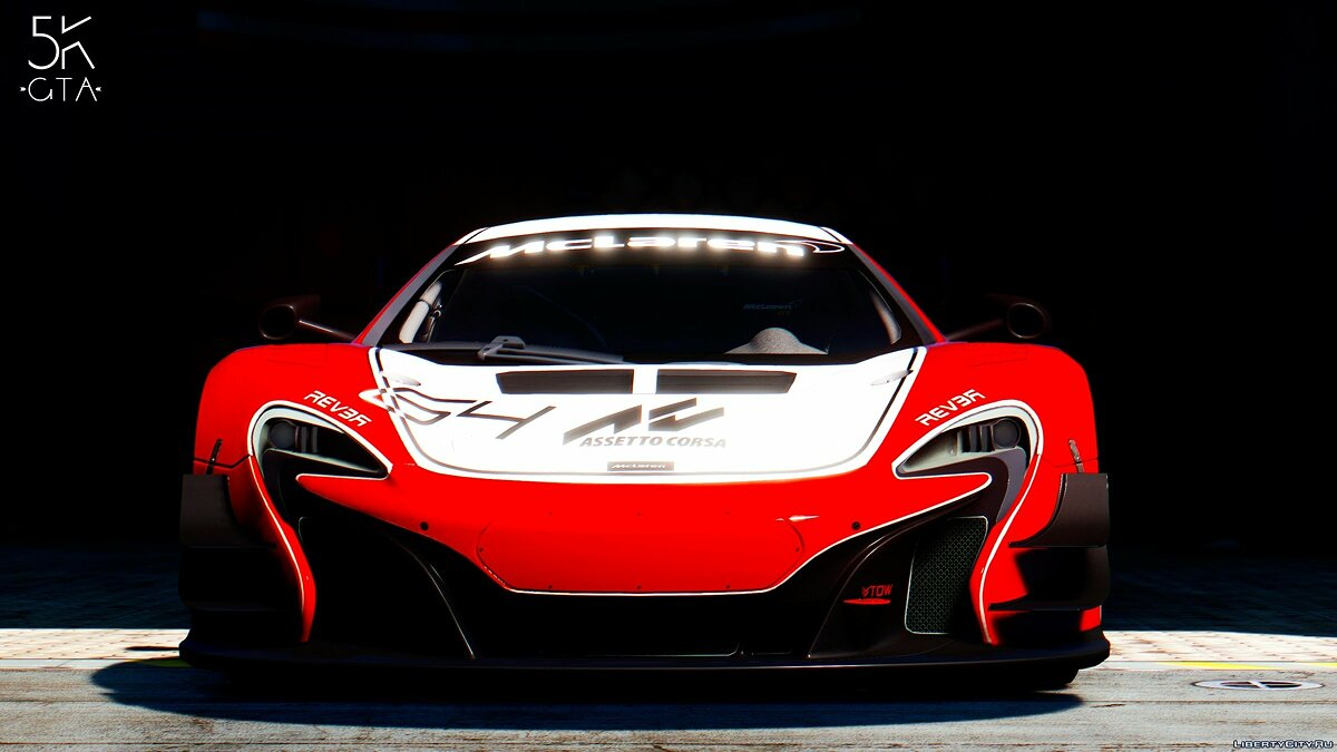 2015 McLaren 650s GT3 [Add-on/Replace] v1.06 для GTA 5 - скриншот #3
