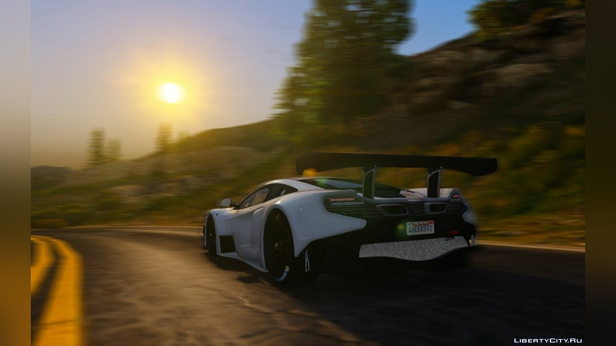 2015 McLaren 650s GT3 [Add-on/Replace] v1.06 для GTA 5 - скриншот #7