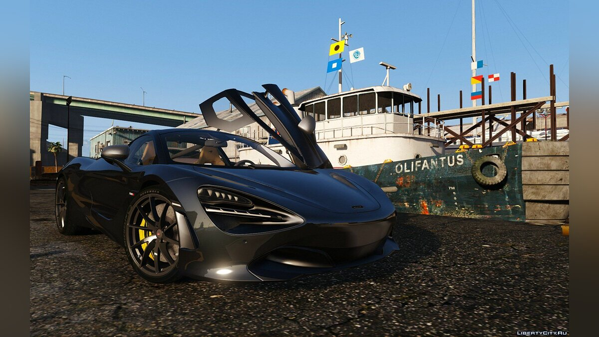 2017 McLaren 720S [Add-On | Tuning | HQ] 1.2 для GTA 5