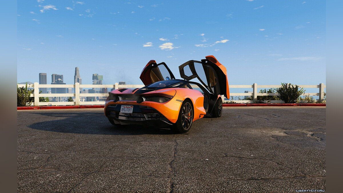 2017 McLaren 720S [Add-On | Tuning | HQ] 1.2 для GTA 5 - скриншот #2