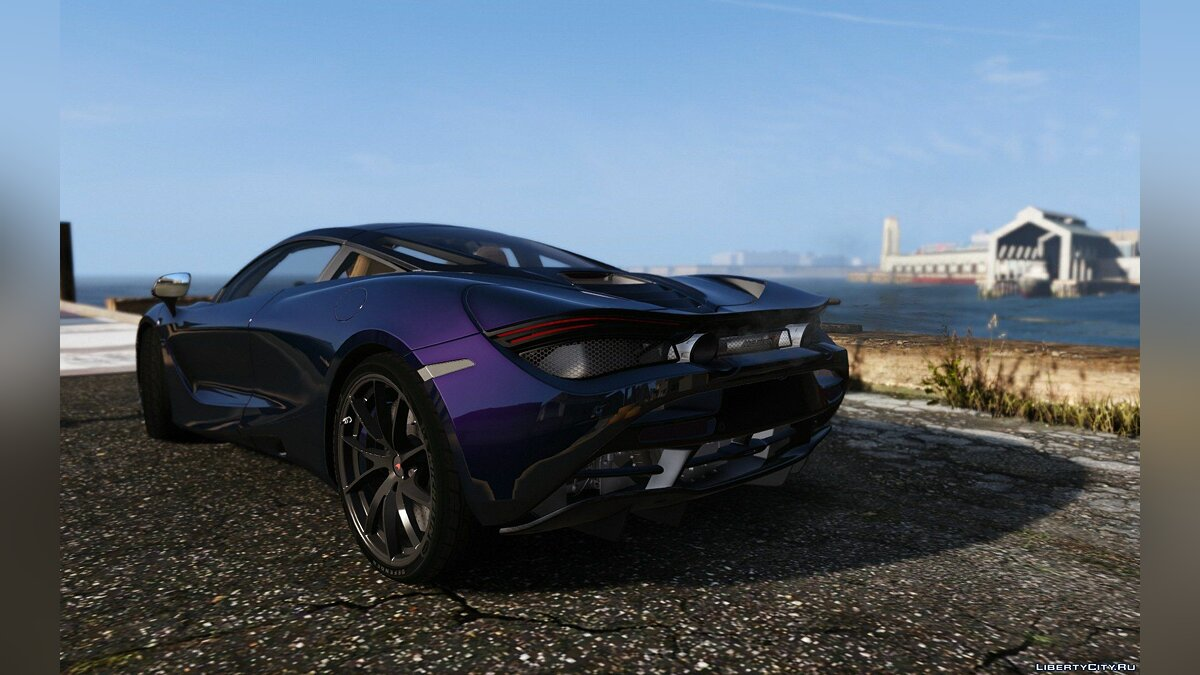 2017 McLaren 720S [Add-On | Tuning | HQ] 1.2 для GTA 5 - скриншот #3