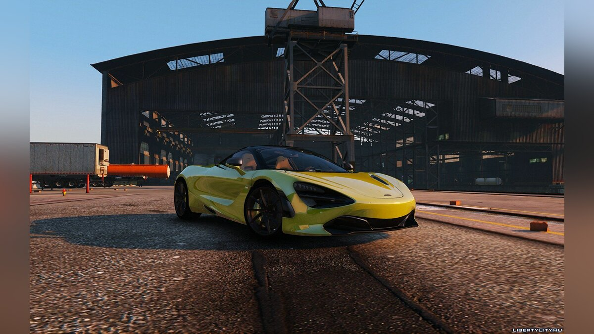 2017 McLaren 720S [Add-On | Tuning | HQ] 1.2 для GTA 5 - скриншот #4