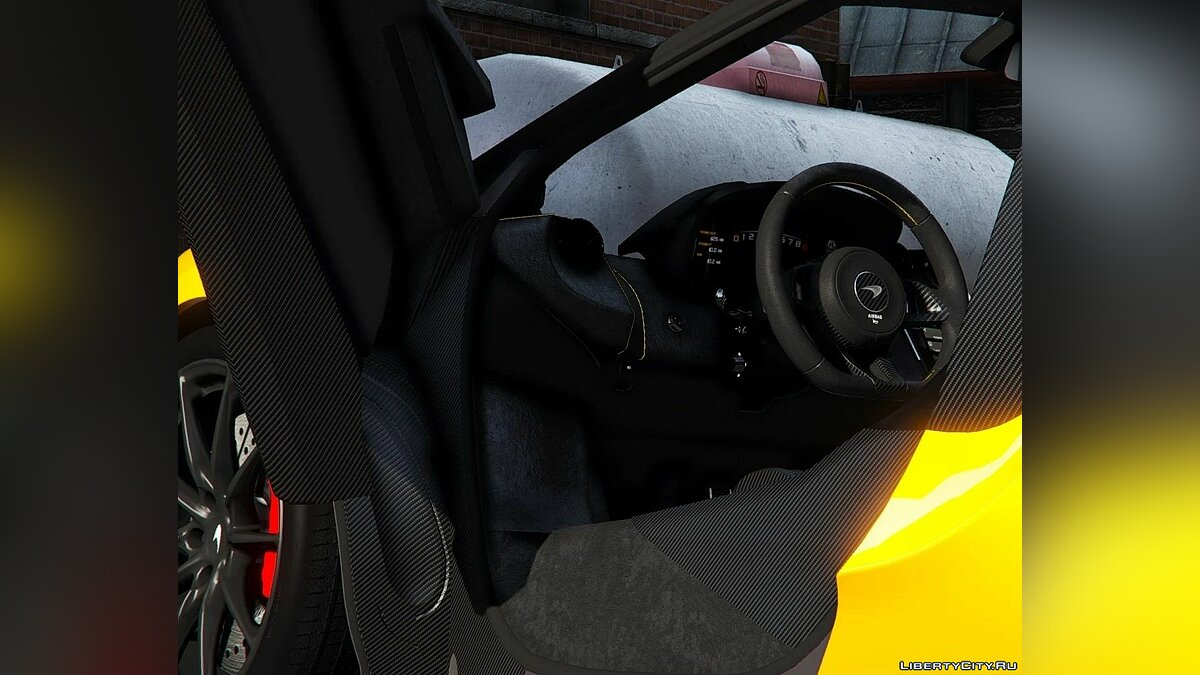 Машина McLaren 2019 McLaren 600LT [Add-On] Reworked 1.0 для GTA 5