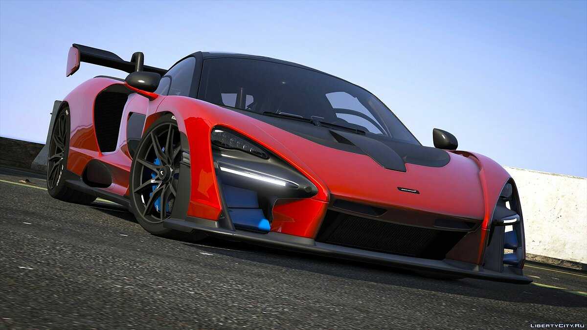 Машина McLaren 2019 McLaren Senna [Add-On] 1.0 для GTA 5