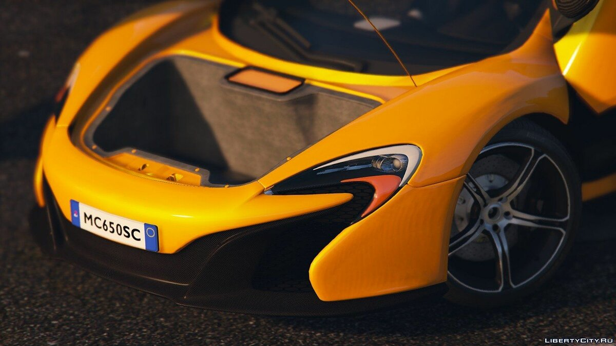 McLaren 650S Coupe [HQ] 3.0 для GTA 5 - скриншот #4