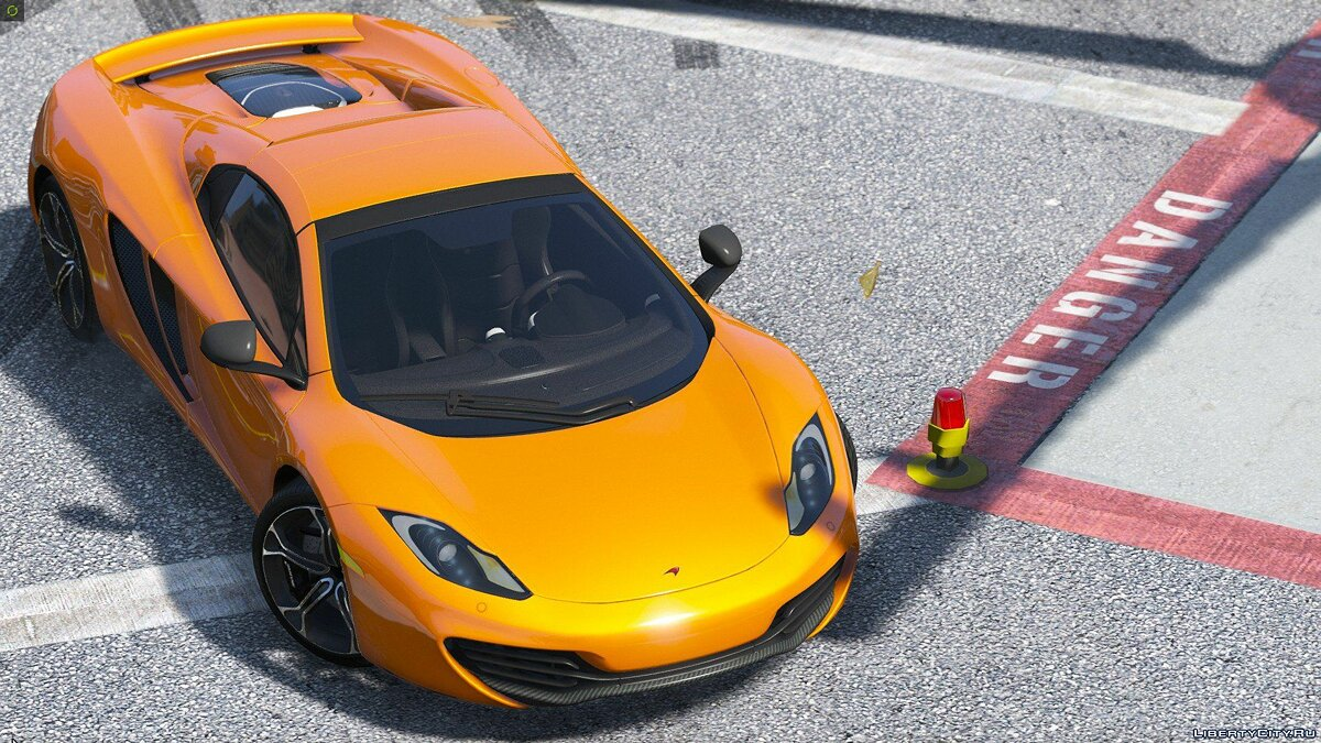 2014 McLaren MP4-12C Spider [HQ | Replace] 2.3 для GTA 5