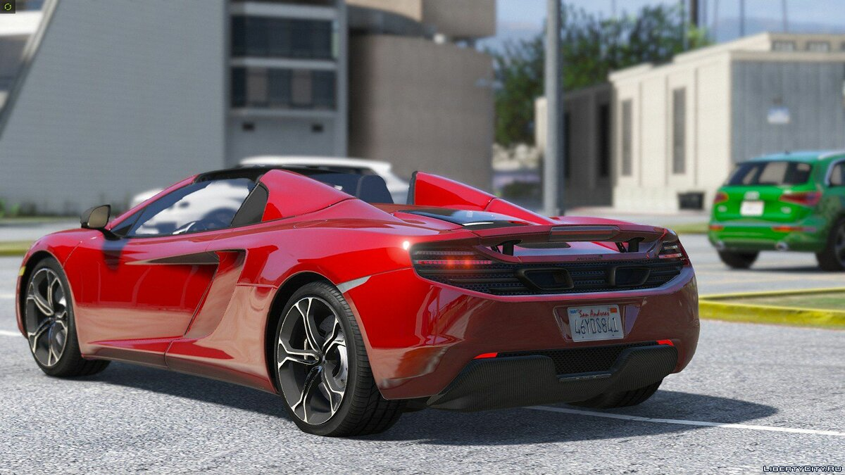 2014 McLaren MP4-12C Spider [HQ | Replace] 2.3 для GTA 5 - скриншот #2