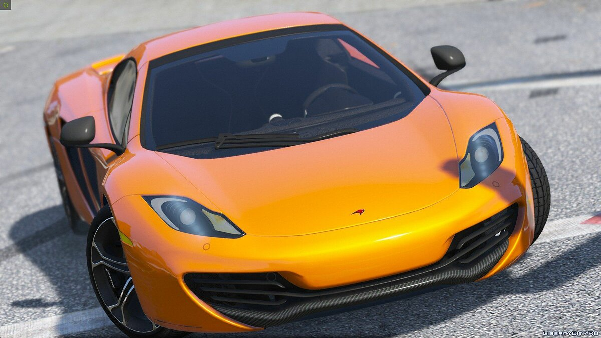 2014 McLaren MP4-12C Spider [HQ | Replace] 2.3 для GTA 5 - скриншот #5