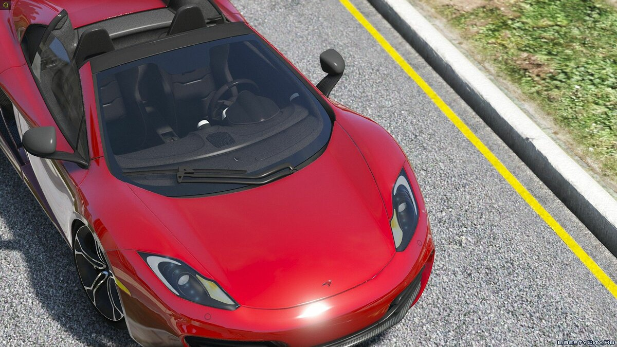 2014 McLaren MP4-12C Spider [HQ | Replace] 2.3 для GTA 5 - скриншот #7