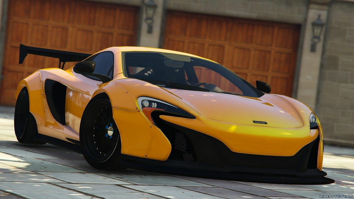2015 McLaren 650S Coupe [LibertyWalk] 1.0 для GTA 5 - скриншот #2