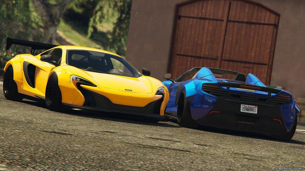 2015 McLaren 650S Coupe [LibertyWalk] 1.0 для GTA 5