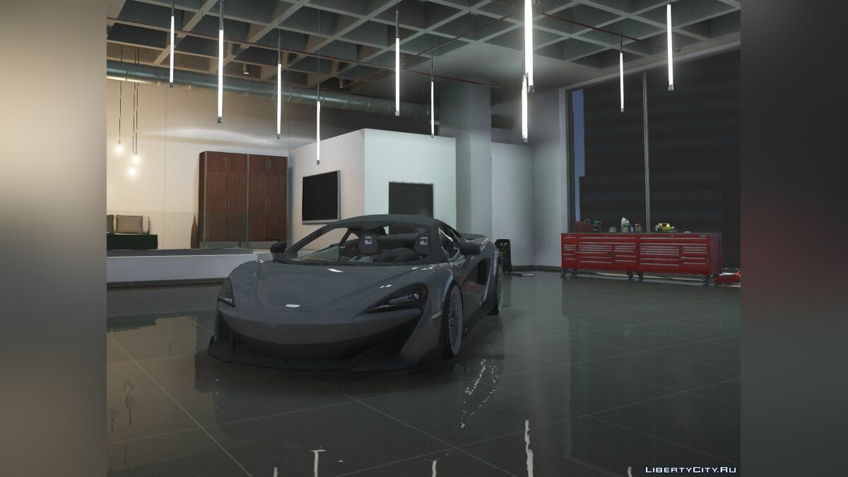 Машина McLaren 2019 Mclaren 600lt [Fivem Add-on| Gta V Replace] 2.0 для GTA 5