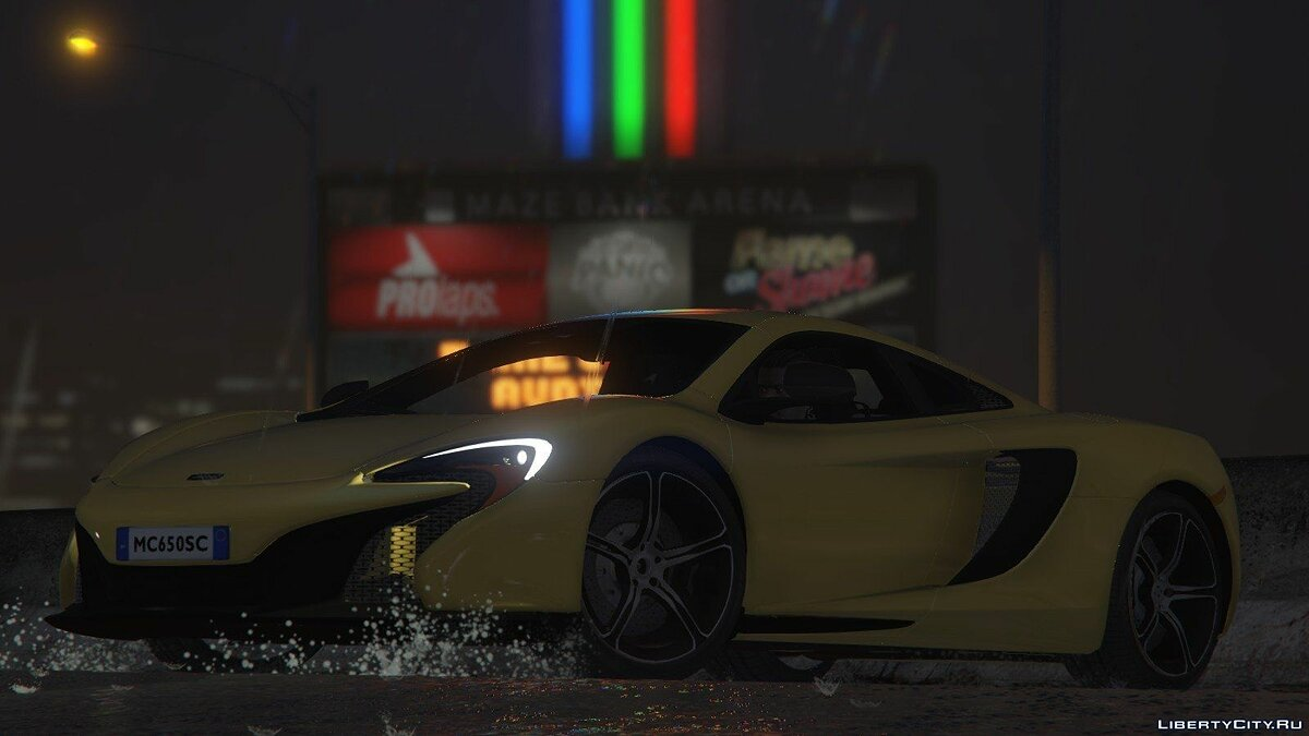 McLaren 650S Coupe [HQ] 1.0 для GTA 5
