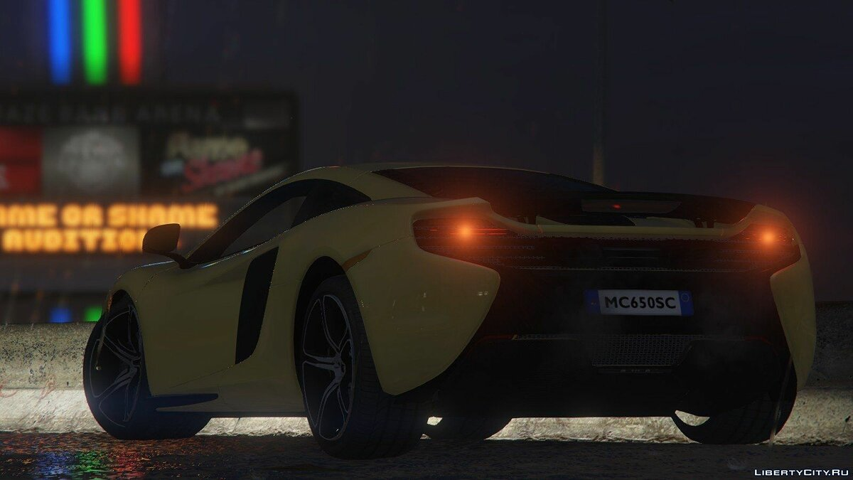 McLaren 650S Coupe [HQ] 1.0 для GTA 5 - скриншот #2