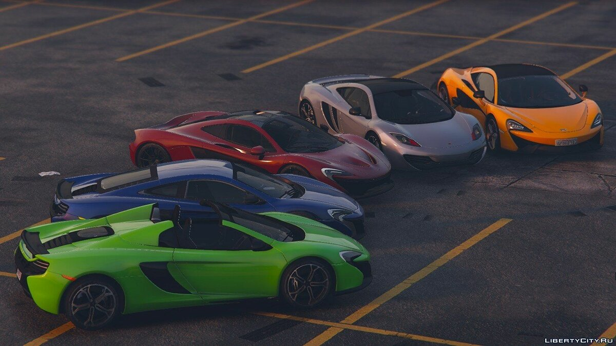 McLaren 650S Coupe [HQ] 1.0 для GTA 5 - скриншот #3