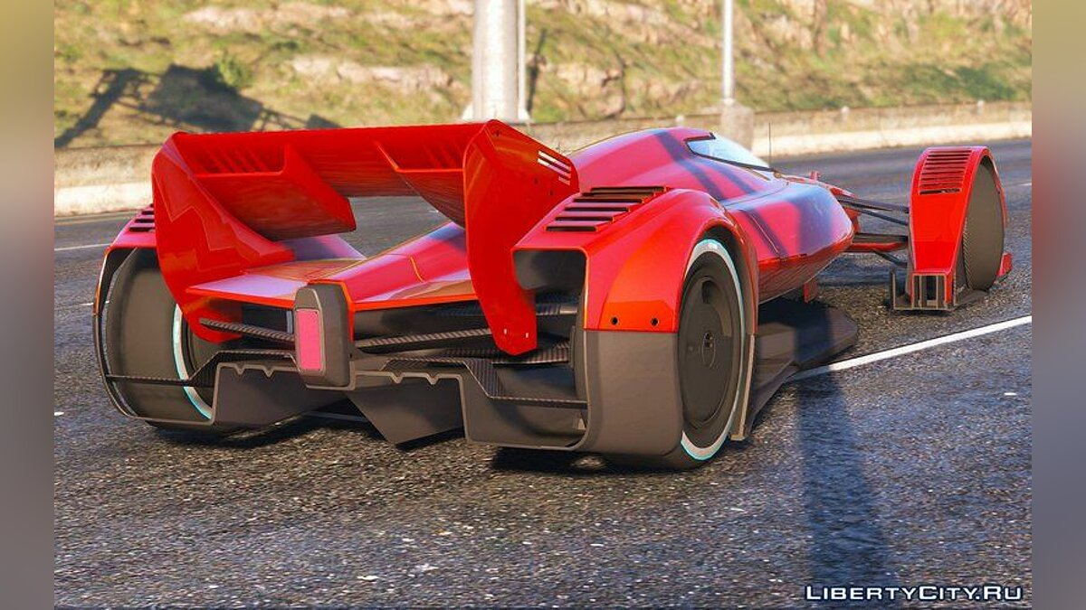 Машина McLaren 2016 McLaren MP4-X [Replace] для GTA 5