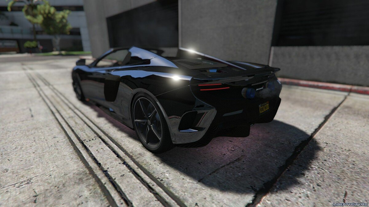 McLaren 675 LT Spider [Add-On / Replace] для GTA 5 - скриншот #3