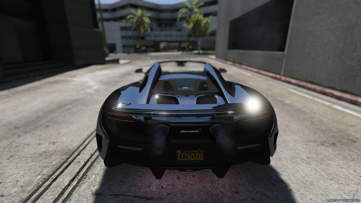 McLaren 675 LT Spider [Add-On / Replace] для GTA 5 - скриншот #5