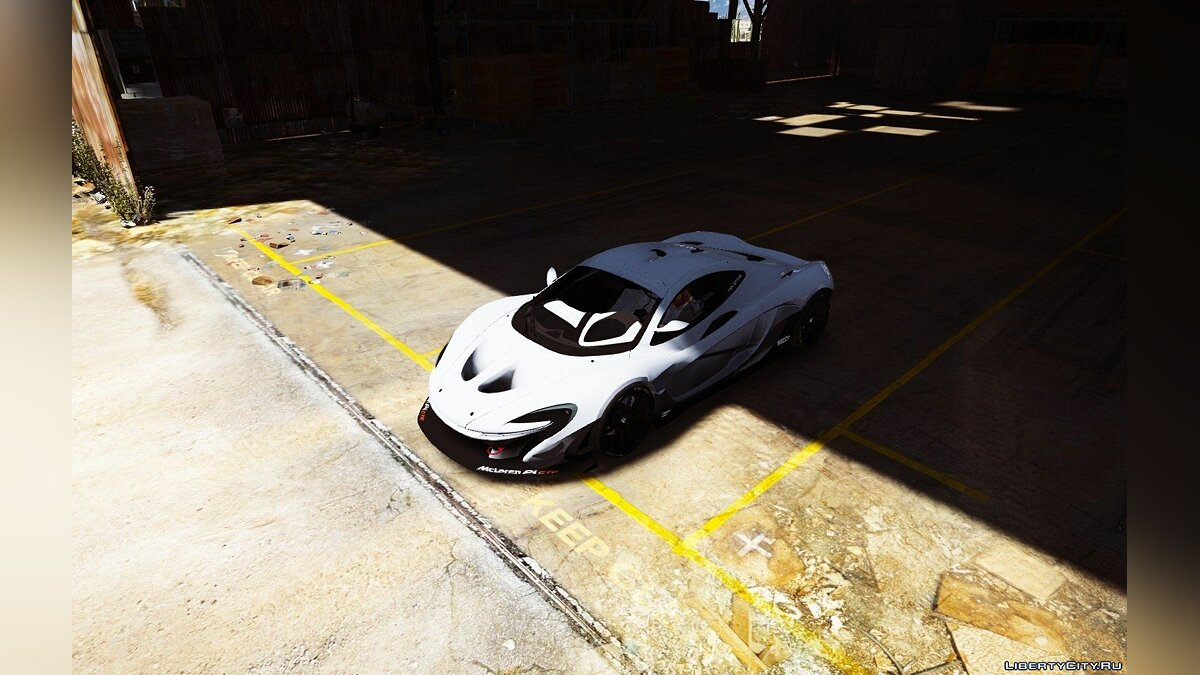 McLaren P1-GTR [HQ | Add-On / Replace] 1.3 для GTA 5