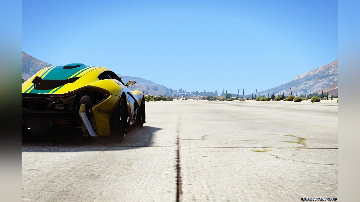 McLaren P1-GTR [HQ | Add-On / Replace] 1.3 для GTA 5 - скриншот #3