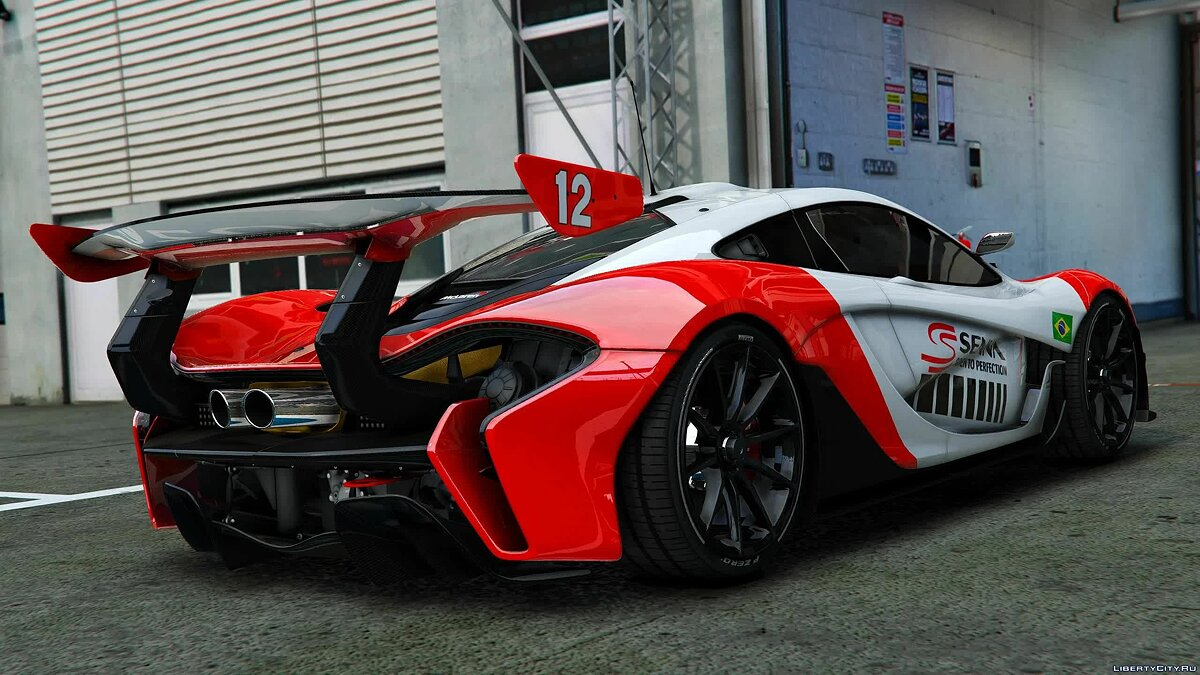 Машина McLaren McLaren P1 GTR [Add-On / OIV] 1.1 для GTA 5