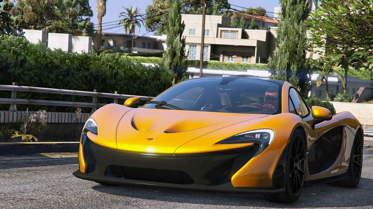 2014 McLaren P1 [Add-On Replace] для GTA 5 - скриншот #3