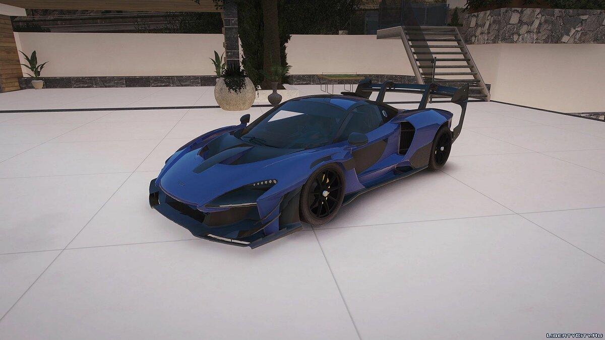 Машина McLaren McLaren Senna GTR [Add-On] 0.5 для GTA 5